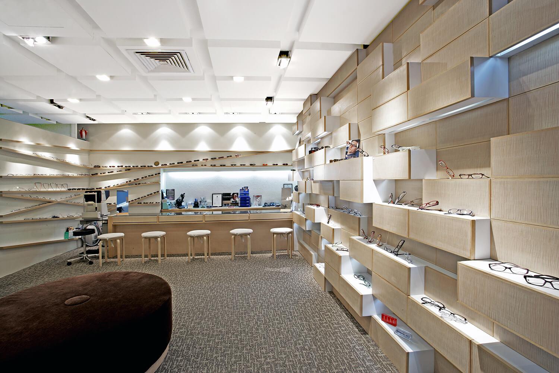 Pin pin optical topos for Interior decorating jobs retail